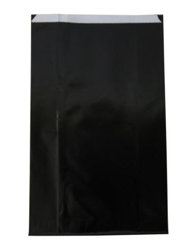 100 Pochettes cadeaux en papier noir brillant