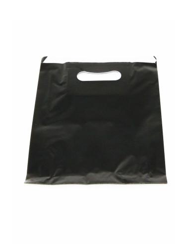 100 sacs galette papier noir